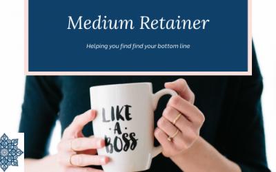 Medium Retainer Package